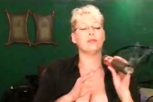 avid massive cigar and large aged tits!