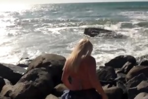 large titty blond mother i flashes in public