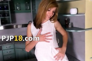 gyno gaping of unbelievable czech model