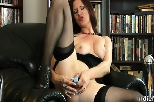 outstanding hawt redhead milf bitch with good