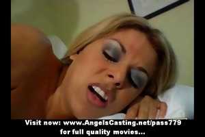 ravishing blond mother i drilled from behind and