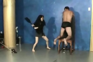 punishment loving chick in seductive flogging aged