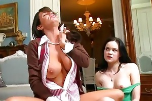 mother i teacher squirts on students penis