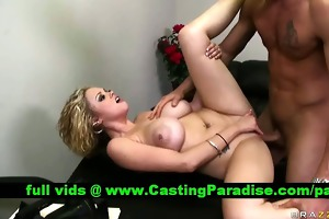 katie kox breasty wench gets drilled and cumshoot