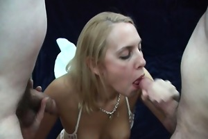 ladies who engulf ramrods jointly compilation