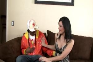 sexy latin chick receive fuck and got a facial cum