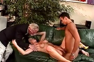sex-crazed d like to fuck takes three