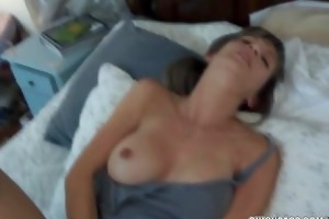 jolene plays with her toys then swallows a wang