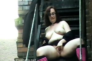 outdoor flashing and public masturbation