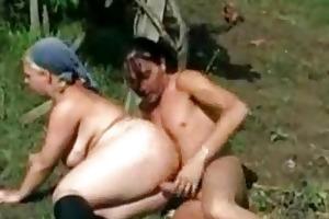 village granny punished by juvenile farmer xlx