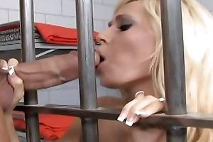 blonde mother i fuck a hard pounder in jail