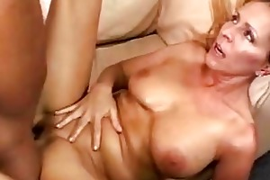 breasty golden-haired momma acquires her hairless