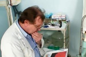 aged jaroslava gyno speculum bawdy cleft checkup