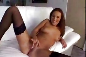 plaid petticoat wearing d like to fuck in nylons