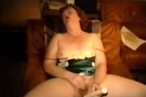 aged lady getting off on sex tool