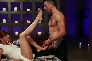 perverted playgirl lovely fetish foot licking