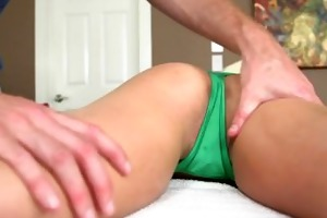 reality kings - kali receives a sexy massage
