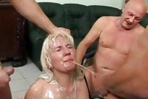 this mature slut likes to acquire urinated on the