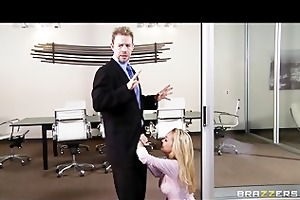 excited soaked milf devon seduces her boss for a