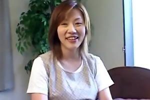 preggy oriental mother i flashes body closeup