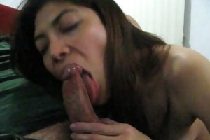mexican wife mina luv sucks some other guy´s