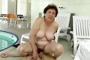 granny enjoys a lengthy good fuck