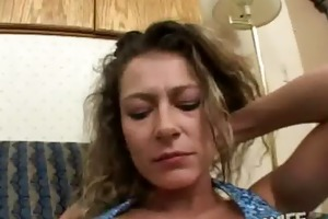 hot large tit cheating wife slut is drilled hard