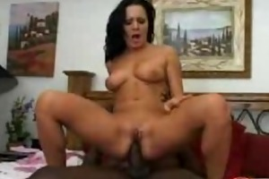 dark brown d like to fuck receives an intensive