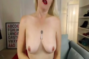 breasty golden-haired mother i louise in dark
