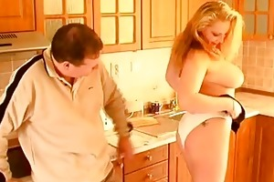 breasty dilettante wife irrumation titjob and