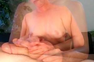 cheerful ending ramrod massage