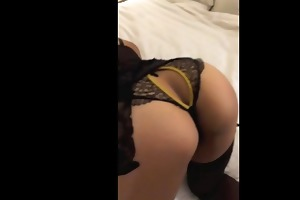 fucking wife in vegas in lingerie-dick and