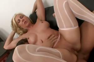 sexually excited woman next door taking biggest