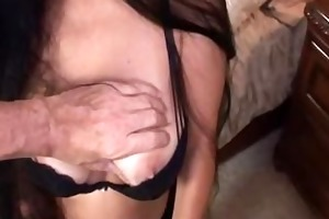 breasty mother i foxy anya gives a fortunate guy
