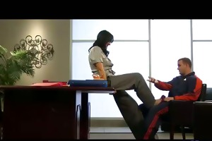hawt d like to fuck squirts in the office part 1