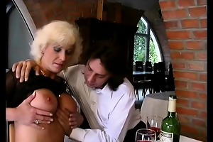 german mamma enjoys her st anal sex