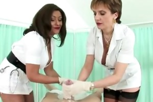 femdom nylons aged british nurses