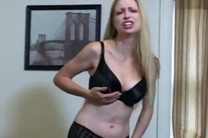 jerky teacher humiliates petite knobs teases to