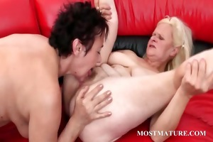 hardcore 3some with aged getting anal