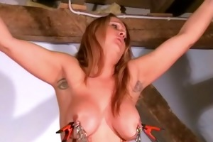 breasty tit punishment of tied d like to fuck