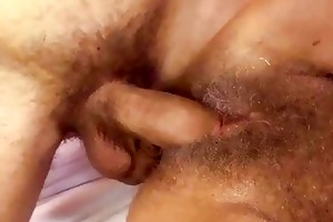 curly granny receives drilled beautiful hard