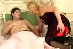 blond big beautiful woman has an anal fixation